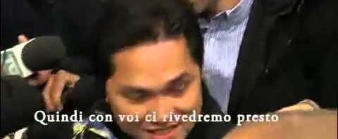 Erick Thohir incontra Massimo Moratti, Walter Mazzarri e Javier Zanetti