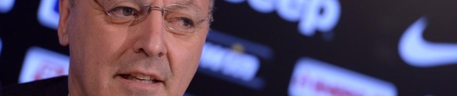 Beppe Marotta sputtana l'Inter durante la conferenza stampa sullo scambio Guarin-Vucinic