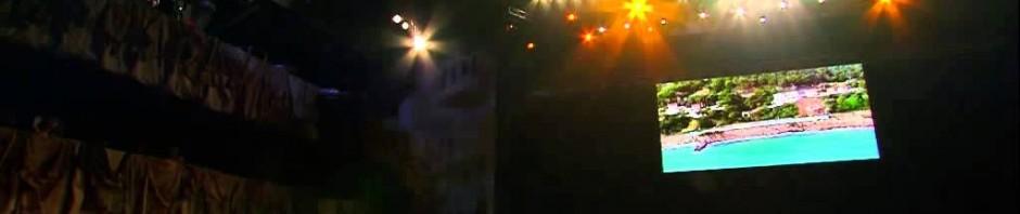 Protesta dei lavoratori in diretta-tv durante il Festival di Sanremo 2014
